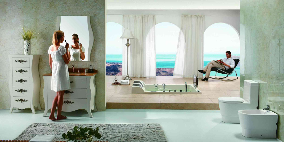 Aquapeutics luxury bathroom steam sauna showers palmer Beautiful bathrooms and bedrooms magazine