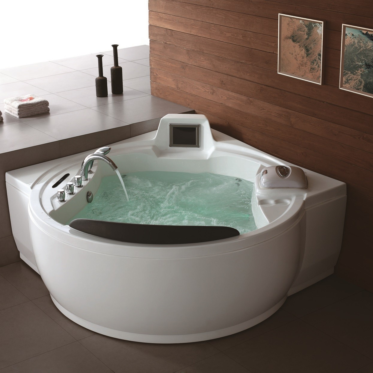 Home freeport luxury whirlpool tub