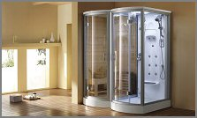 aquapeutics steam shower L526
