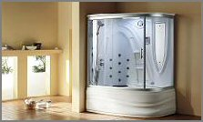 aquapeutics steam shower concord