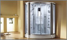 aquapeutics steam shower st. kitts